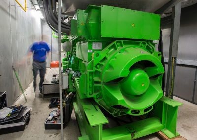 WKK-installatie glastuinbouw