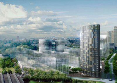 Amsterdams hotel bouwt kas op 70 meter hoogte