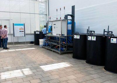 Stikstof uit lozingswater terugwinnen