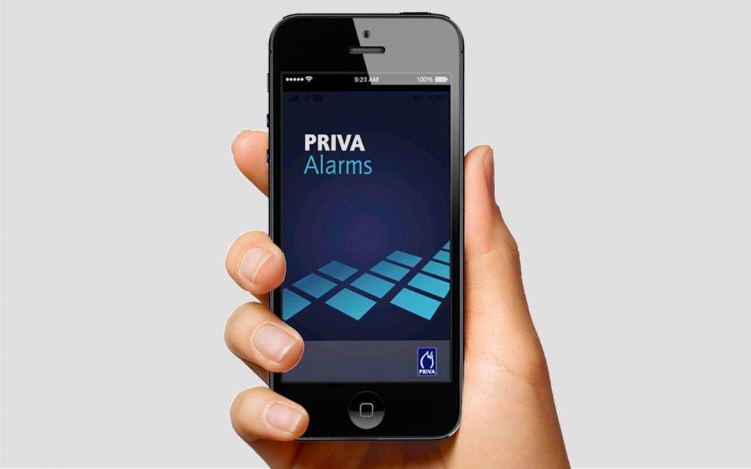 Priva introduceert Alarms app