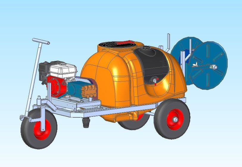 Empas, spuitwagen, spuitmachine, Atlanta, Greentech, introductie, gewasbescherming, spuitapparatuur, glastuinbouw, Nederland