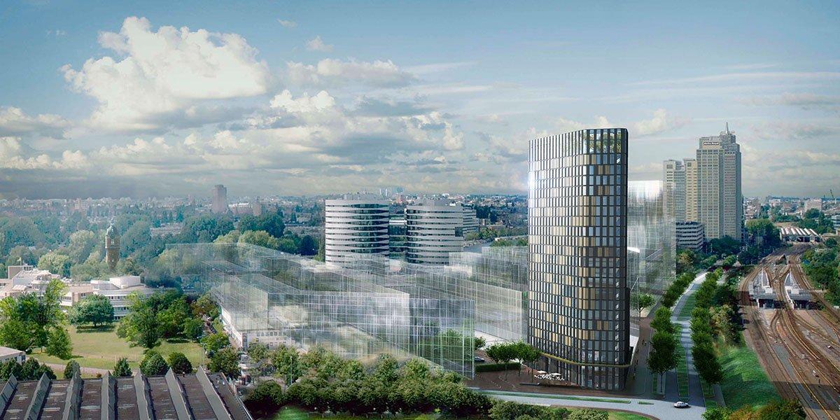 tuinbouw, innovatie, glastuinbouw, technologie, kassen, Hotel Amstelkwartier, Amsterdam, hotel, keuken, glazen dak, vertical farming, urban farming, city farming, groenteteelt, viskweek, aquaponics, biovergister, kringloop, biogas, duurzaam