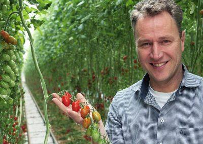 """Greenco-ondernemer Jan Zegwaard: """"We denken innovatief te zijn, maar een nieuwe soort tomaat is nog echt geen innovatie."""""""