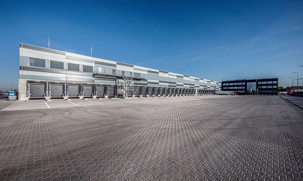 Het nieuwe distributiecentrum van Lidl in Waddinxveen