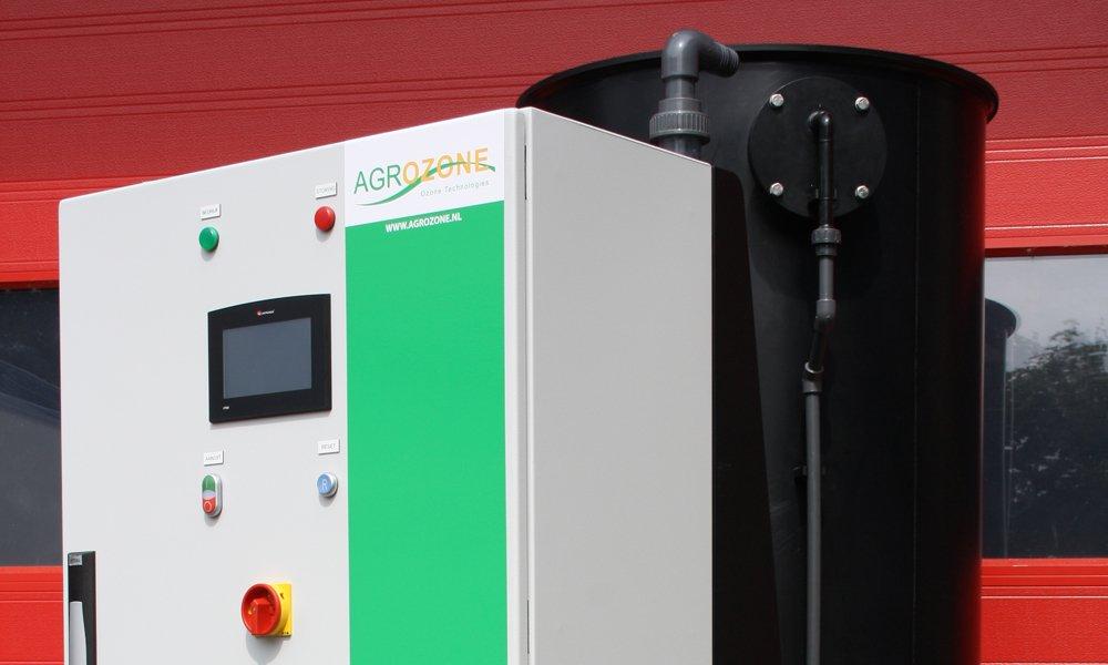 De eerste installatie die 95% van de gewasbeschermingsmiddelen uit het overtollige water kan zuiveren is de HortiZone van Agrozone.