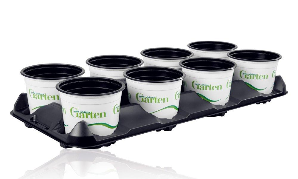 Verkoop bevorderen met nieuwe potten en marketingtrays