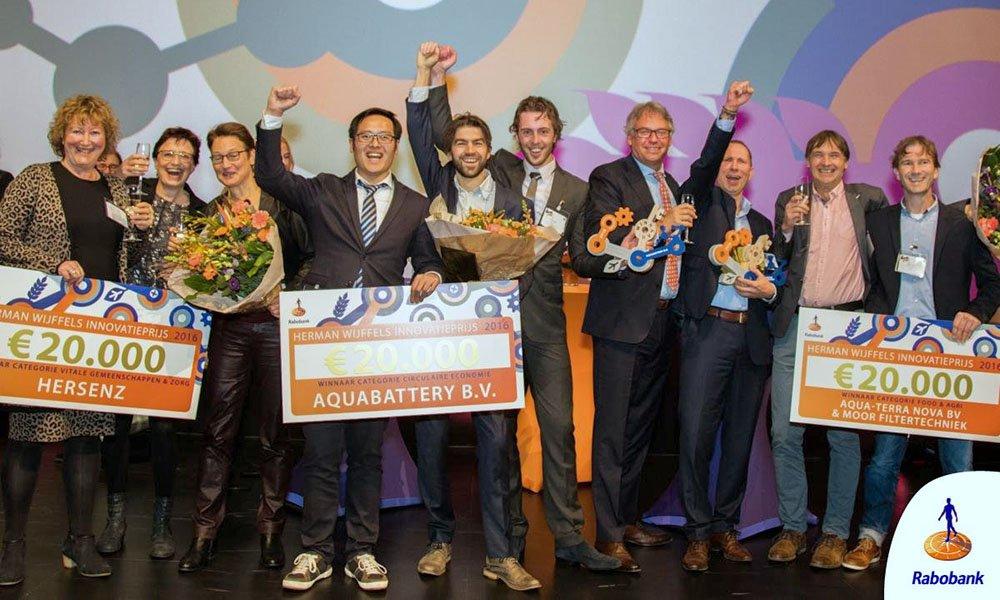 Winnaars Herman Wijffels Innovatieprijs