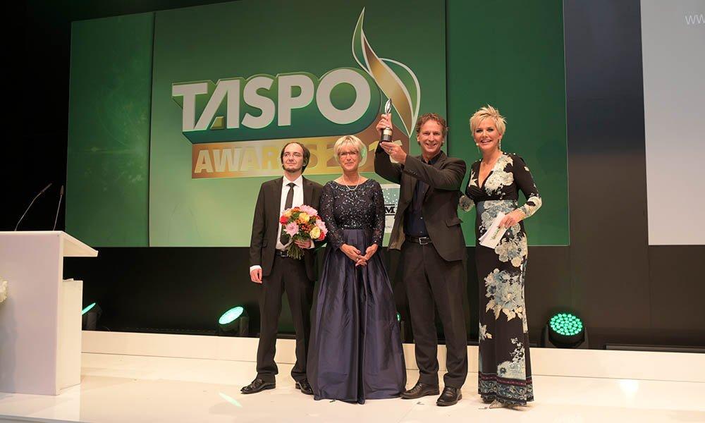 Uitreiking van de TASPO Award aan Royal Brinkman.