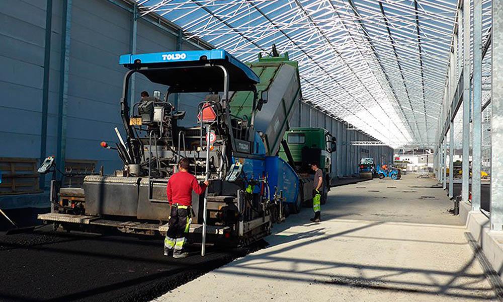 Nieuwbouw kwekerij Rutishauser door Thermoflor.
