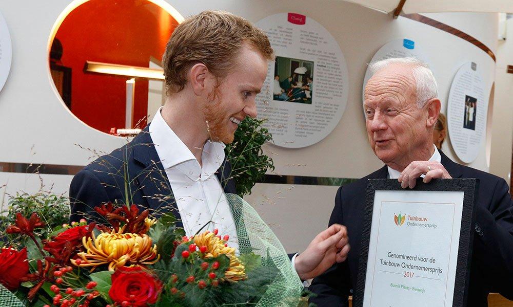 Bunnik Plants opnieuw genomineerd voor Tuinbouw Ondernemersprijs