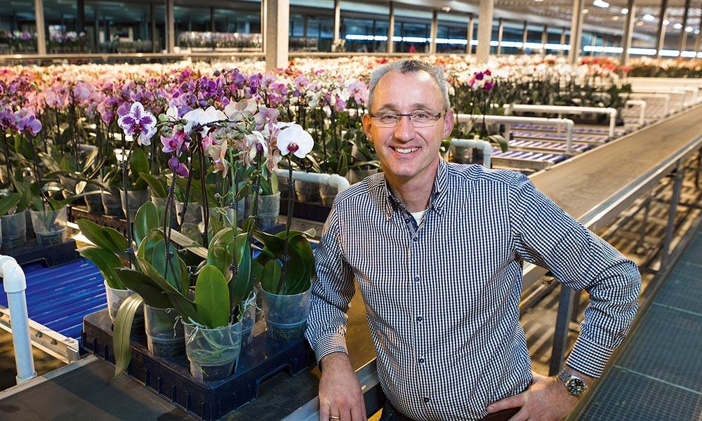 Martin Smaal van orchideekwekerij So Natural