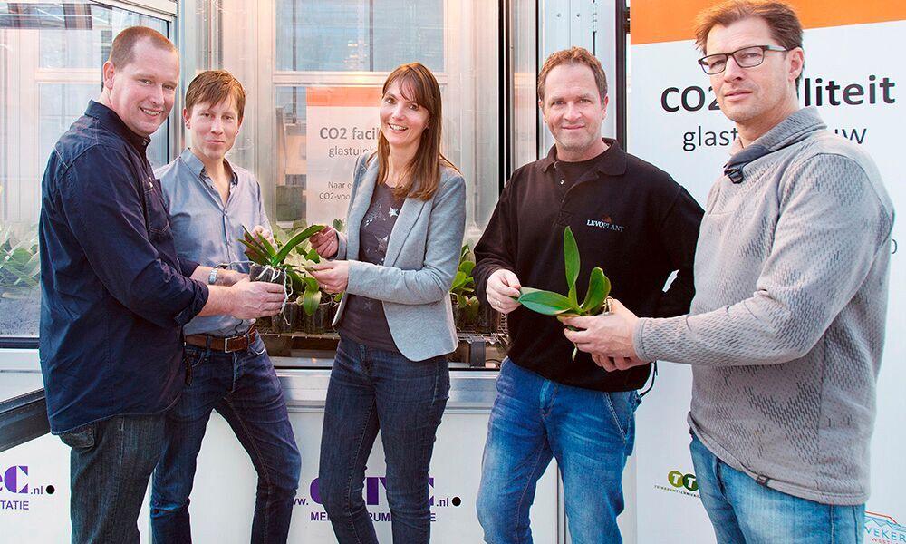 24 uur per dag CO2 doseren bij phalaenopsis heeft geen zin