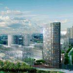 Hotel Amstelkwartier met innovatieve dakkas