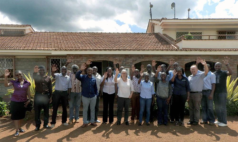 Hoofdkantoor Real IPM Kenya in Nairobi