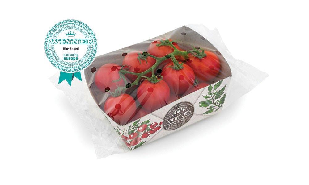 Verpakking met tomatenplantvezels wint prijs