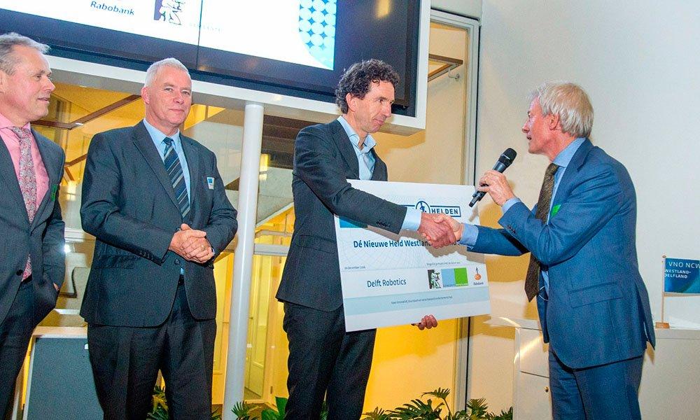 Delft Robotics gekozen tot winnaar VNO-NCW bijeenkomst
