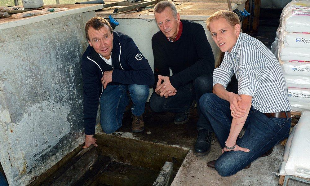 Vermindering hoeveelheid drain door hogere grondwaterstand leliebedrijf