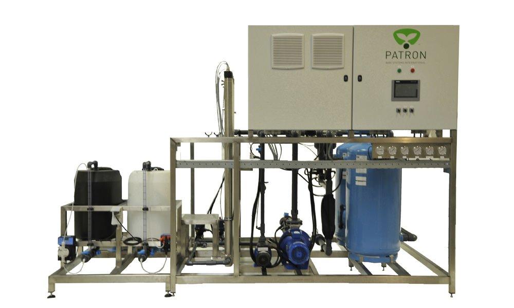 Goedgekeurd waterzuiveringssysteem in één behandeling