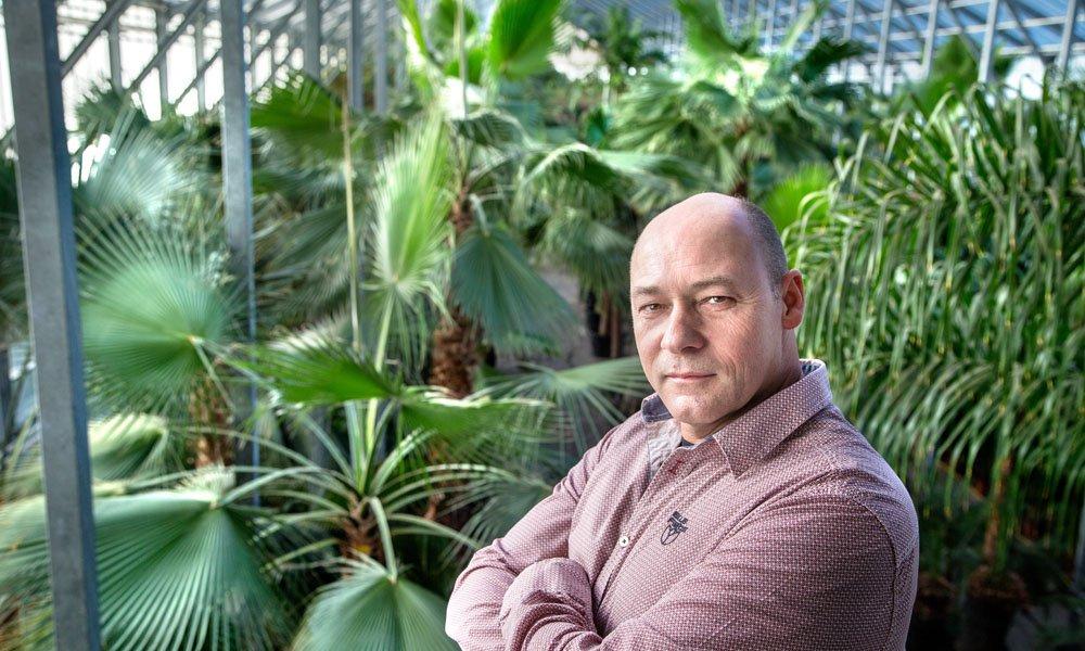 Natuurlijke sfeer in gebouwen met duurzaam geproduceerde planten