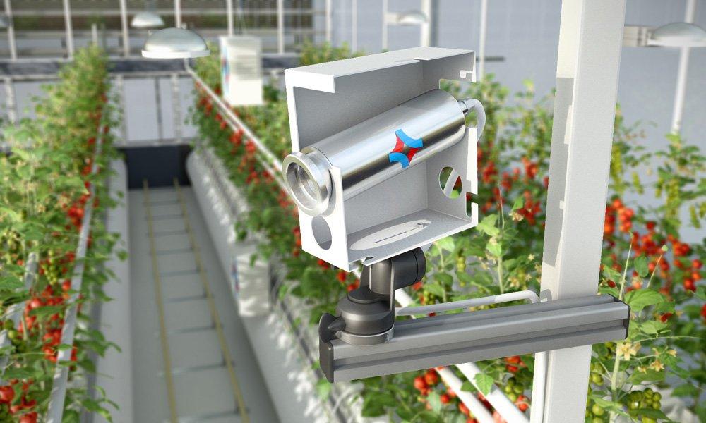 De software en sensors van het Hoogendoorn PlantVoice-programma monitoren en regelen alle groeifactoren die deze balansen beïnvloeden.
