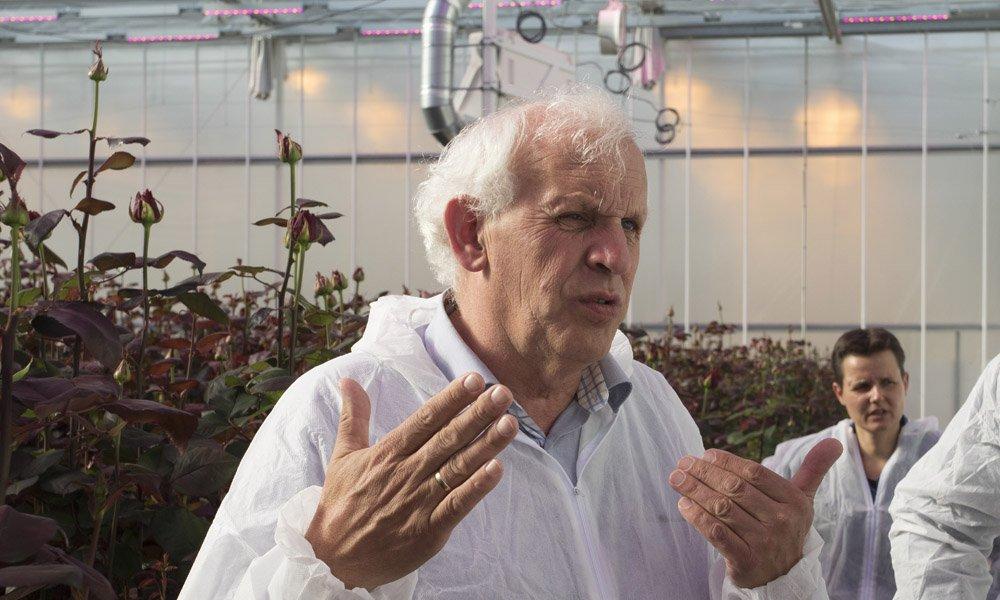 Volgens onderzoeker Arie de Gelder is het nog een hele uitdaging om de kneepjes van het telen volledig in de vingers te krijgen.