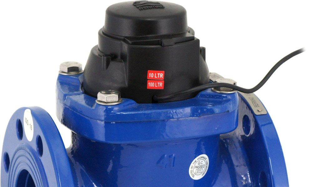 De BAR watermeter is robuust, geschikt voor hoge debieten, slijtvast en een makkelijk te onderhouden product.