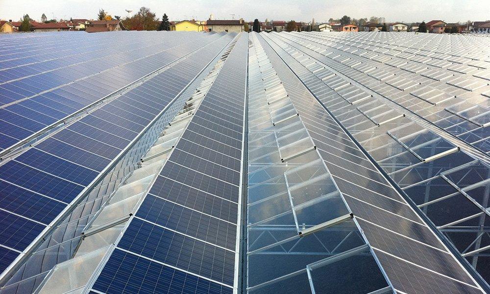 De bouw van een kas met geprinte zonnecellen in het glas behoort tot de plannen van het lab dat Bluehub, Botany Blue Engineering willen bouwen.