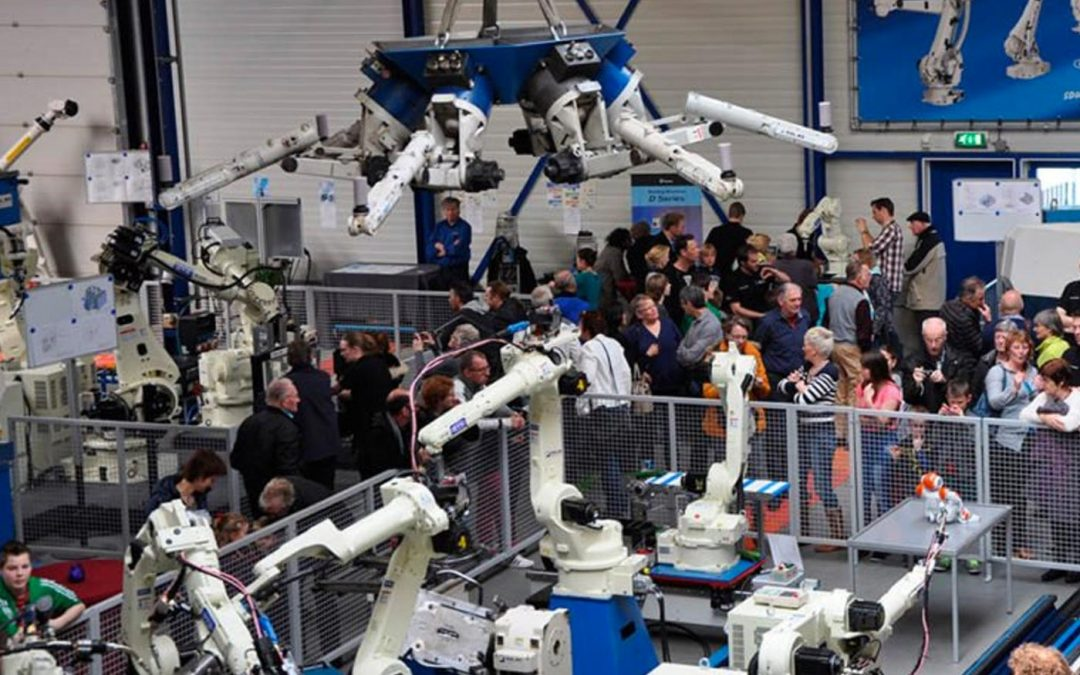 Rolan Robotics maakt robotspektakel van 15-jarig jubileum