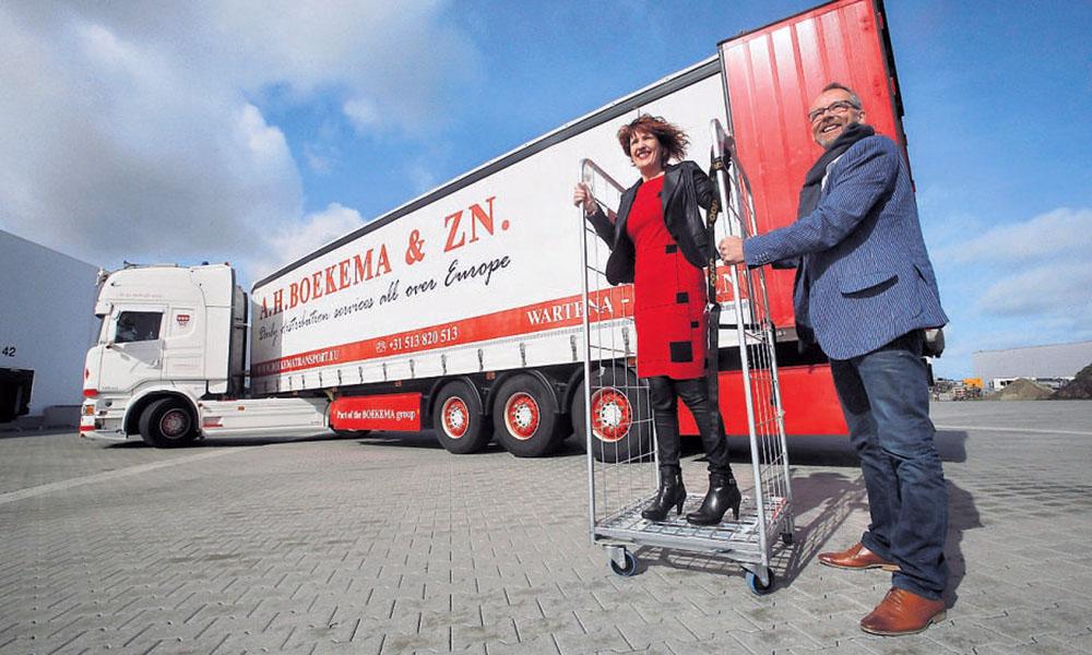Start-up Merakel Logistiek automatiseert laden en lossen van rolcontainers