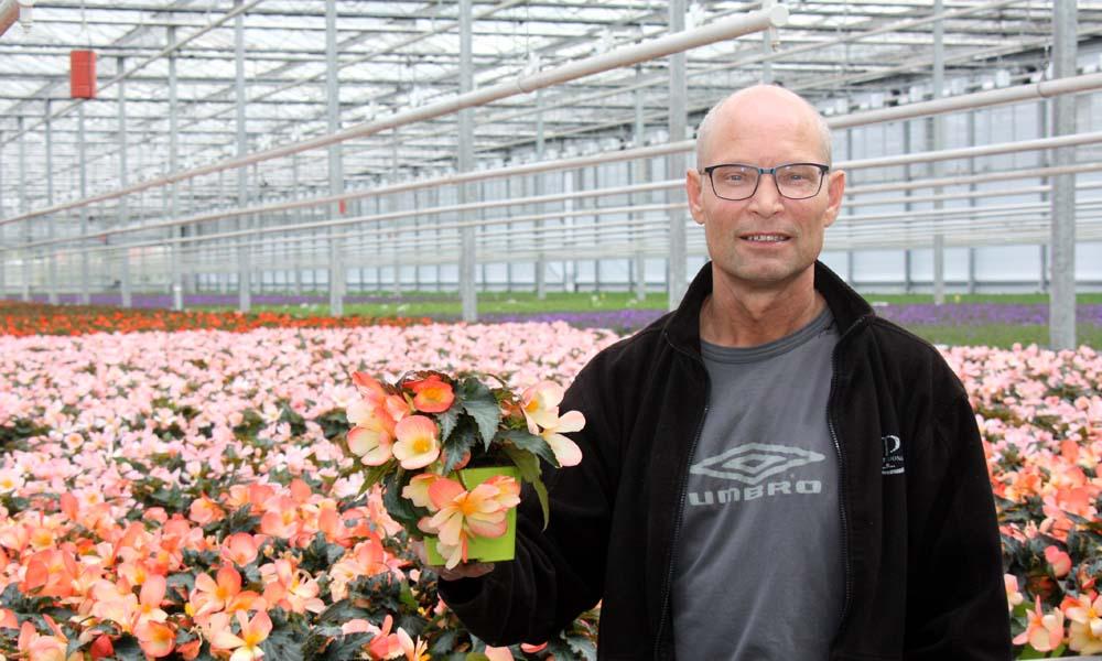 De kwekerij van Pligt Professionals in Maasdijk is verdeeld in drie teeltafdelingen, waar het mogelijk is om de scherming afzonderlijk te regelen.