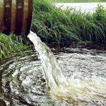 Een waterafvoerpijp waterzuivering