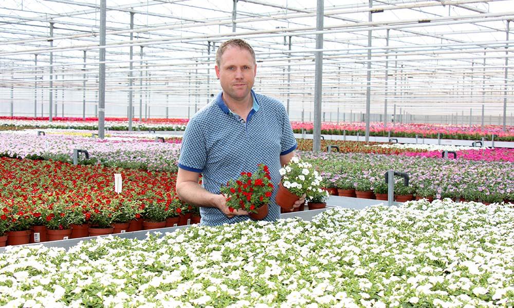 Jochem van Zoggel van Gevers Planten in Asten-Heusden