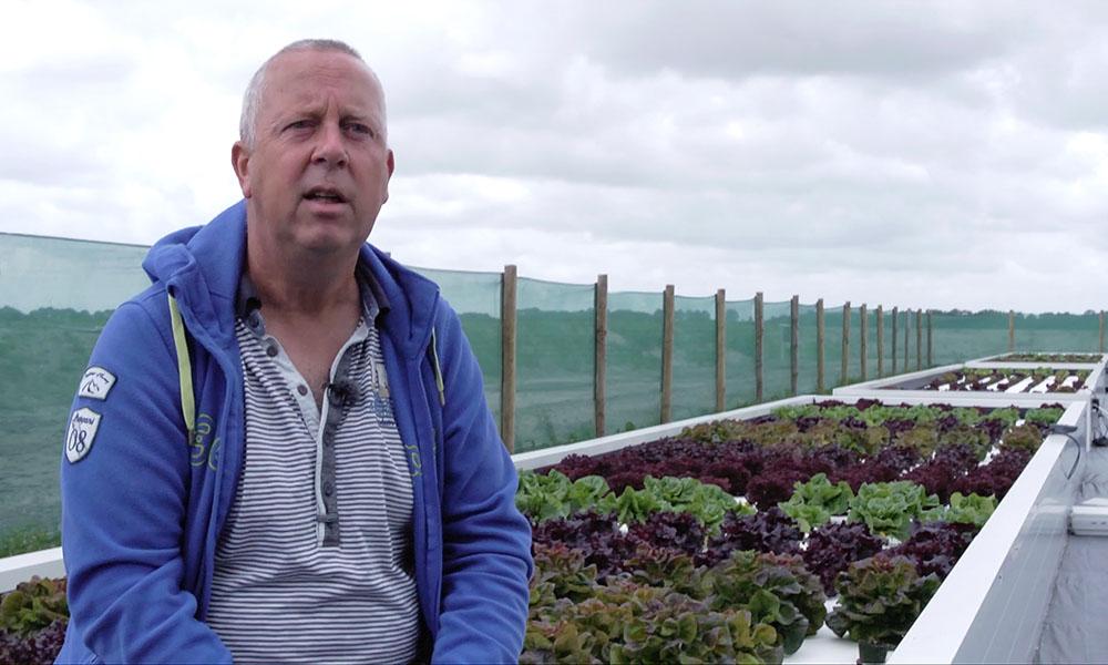 Edwin van Straten van Zilt Proefbedrijf in project Achteroever Wieringermeer