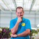Orchideeënteler Maurice van der Hoorn