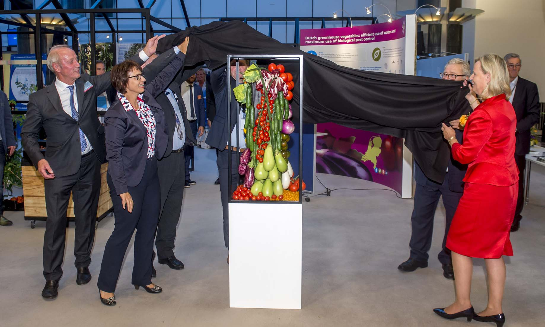 Mini 'Kom in de Kas' toont Europa hoe innovatief Nederlandse tuinbouw is
