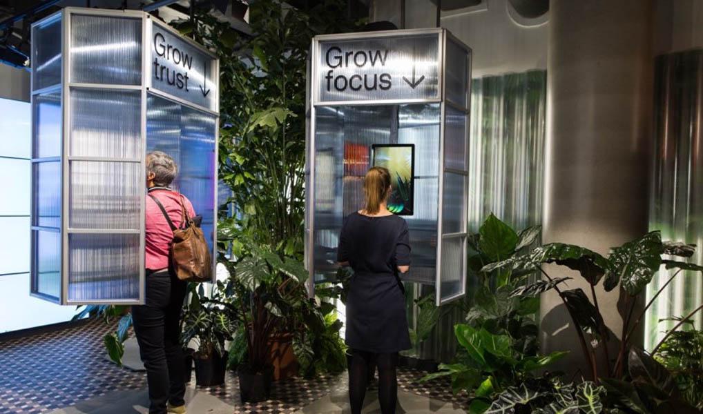 Met pop-up store op Amsterdam CS wil Let it grow stedelingen gelukkiger maken met bloemen en planten.