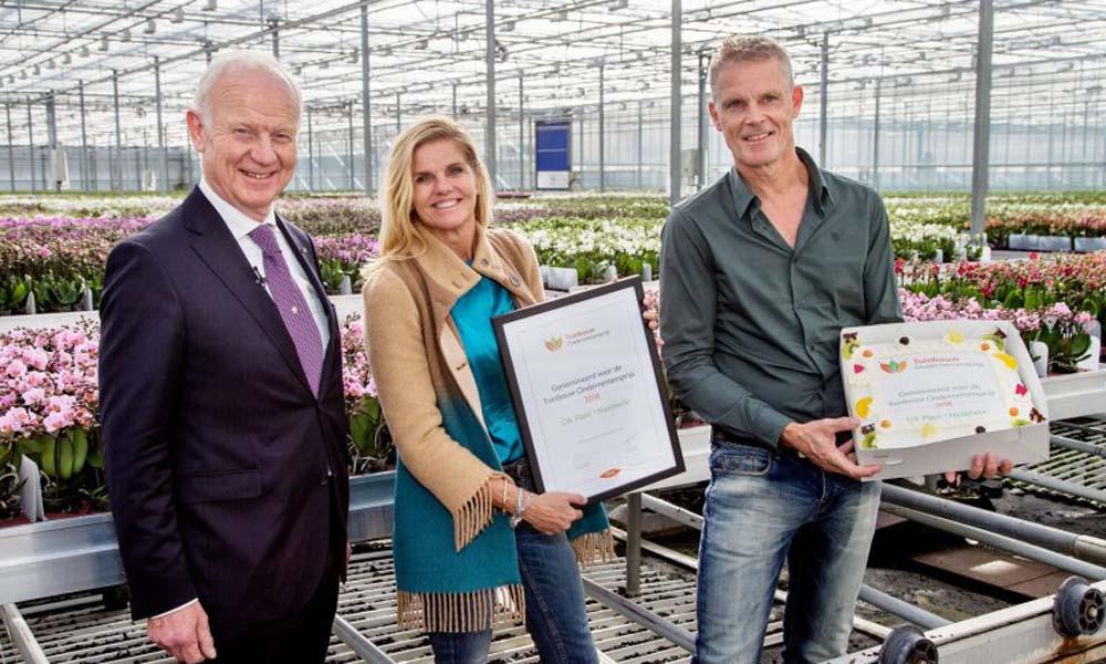 Royal Lemkes in Bleiswijk, De Lepelaar in Sint Maarten en OK Plant in Naaldwijk. Dat zijn de drie genomineerden voor de Tuinbouw Ondernemersprijs 2018.