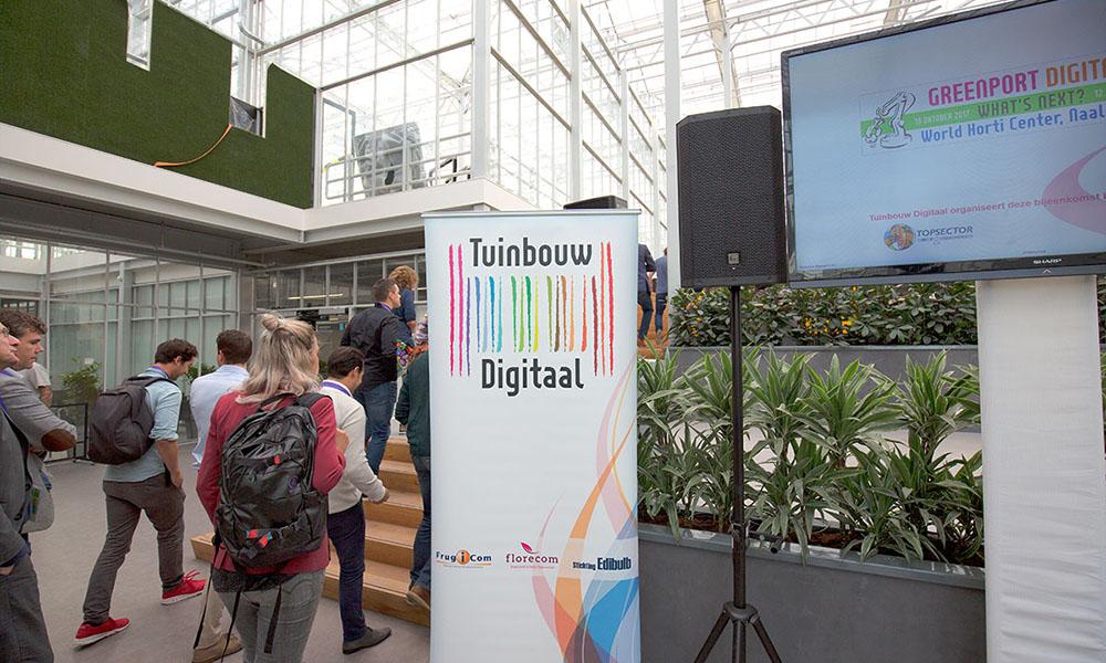 Tuinbouw Digitaal in het World Horti Center in Naaldwijk