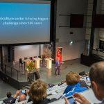 Jan Rotmans tijdens World Floral Summit
