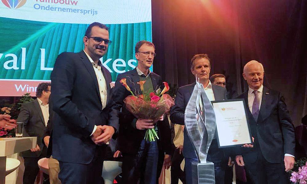 Royal Lemkes winner 2018 Horticulture Entrepreneurs Prize