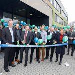 Opening kas Bayer insecticidenonderzoek Monheim Duitsland