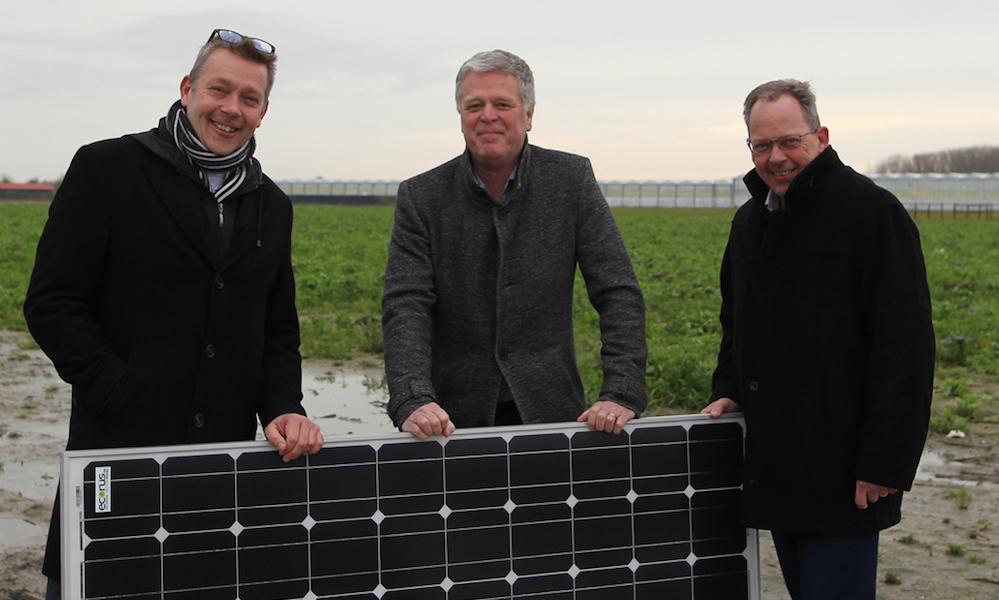 Tuinders op Voorne krijgen mogelijk waterberging met zonne-energiepark