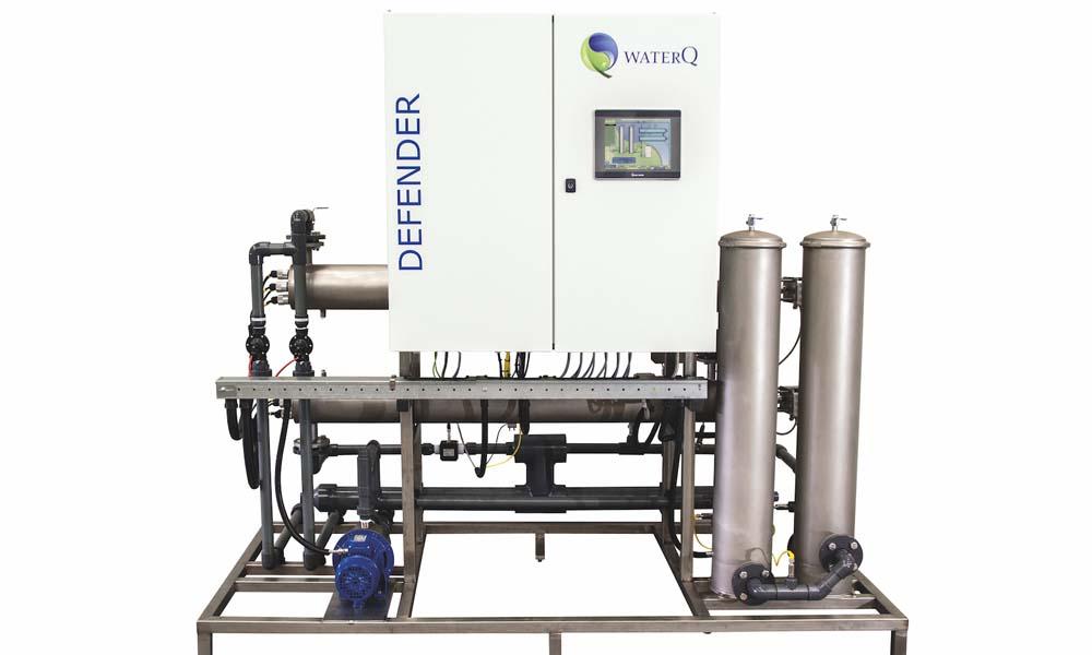 Eerder dit jaar ontwikkelde het Nijmeegse bedrijf WaterQ in samenwerking met partner Trintech de WaterQ Defender