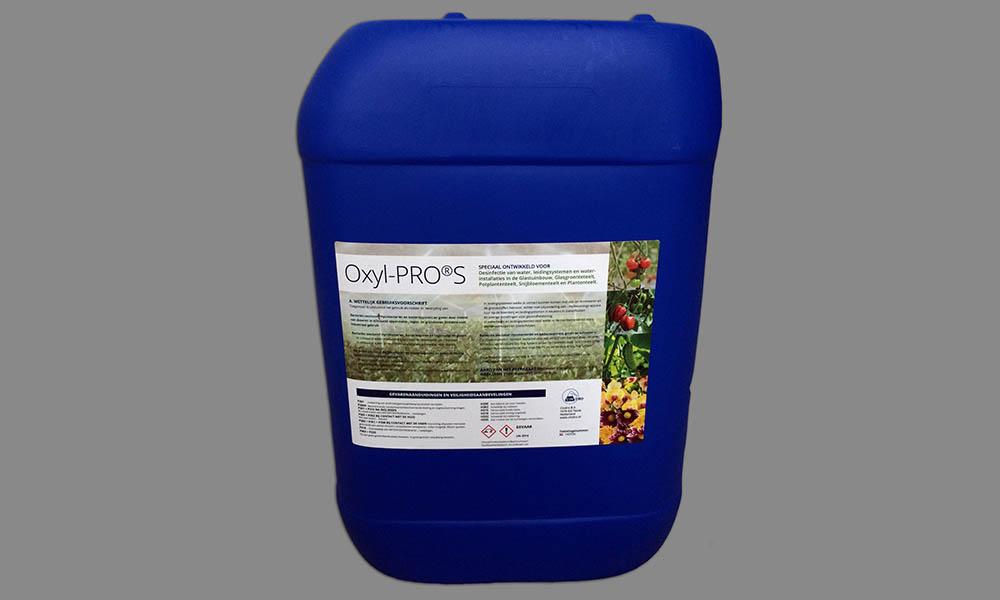 Familiebedrijf Cindro uit Twisk presenteert Oxyl-PRO S, een biocide met als werkzame stof waterstofperoxide 50%