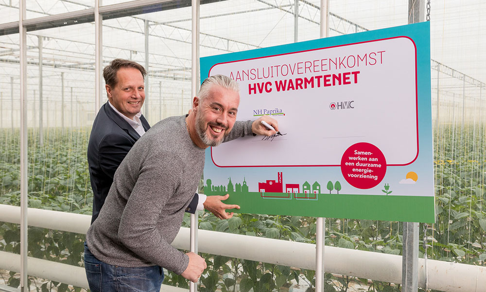 Ondertekening contract HVC-NH Paprika