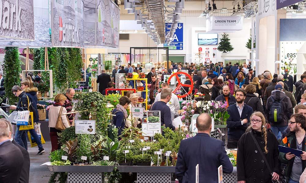 drie belangrijke evenementen in een tijdsbestek van vijf weken: IPM Essen, Fruit Logistica Berlijn en HortiContact Gorinchem.