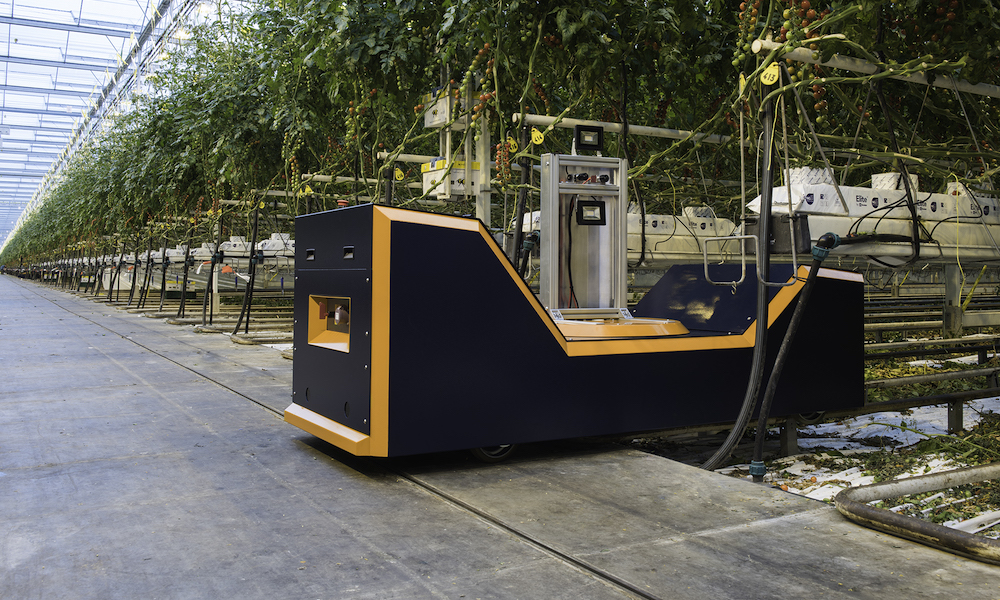 De Plantalyzer is een innovatief instrument voor een nauwkeurige oogstprognose voor trostomaten