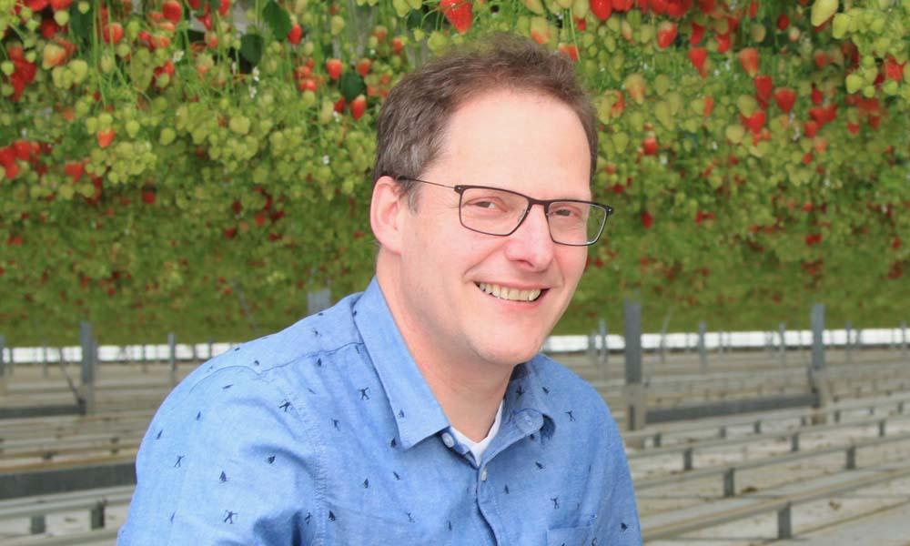 Professor Leo Marcelis van de Wageningen University Research