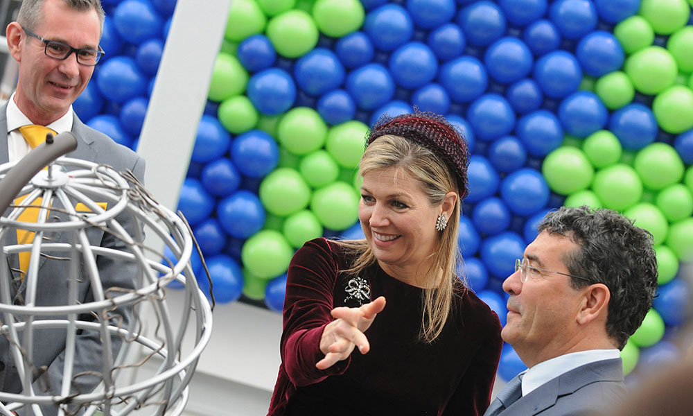 World Horti Center opening Koningin Maxima