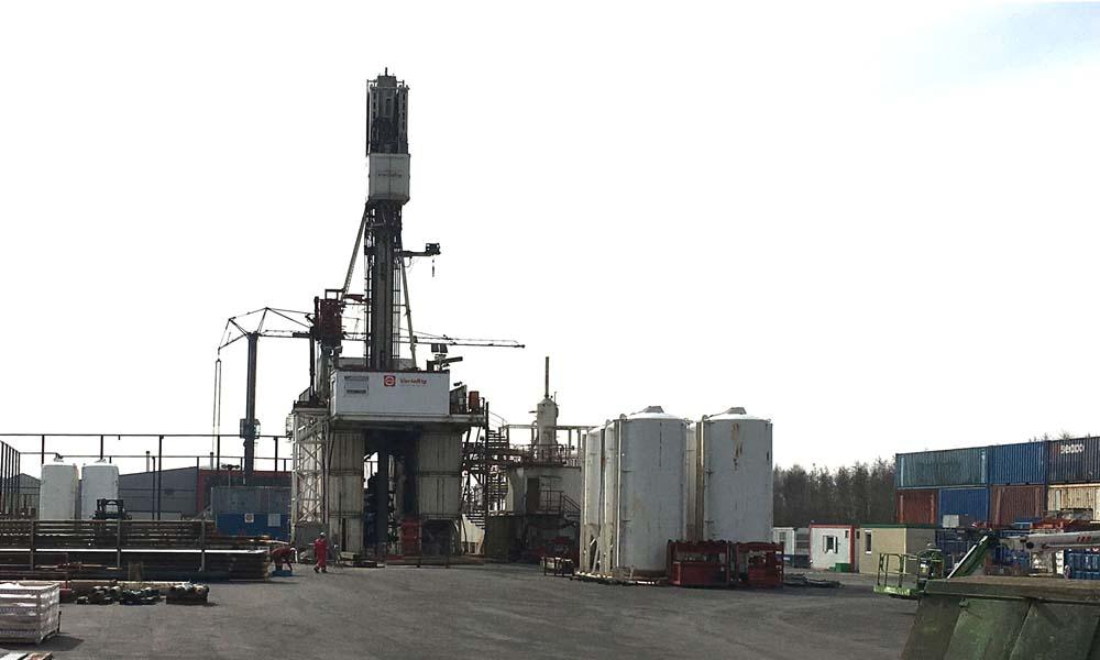 boorwerkzaamheden geothermie Hoogweg